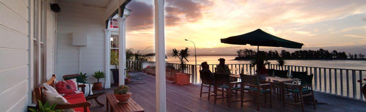 Deck-at-sunset,-Daniel-Allen