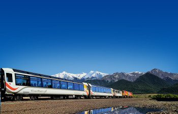 Tranz-Alpine---Springfield,-Approaching-The-Apls_93806