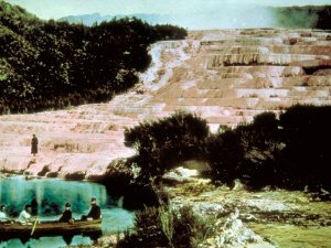 Waimangu Valley pink terraces