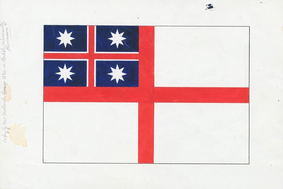 United Tribes Flag. Image courtesy of NZ History