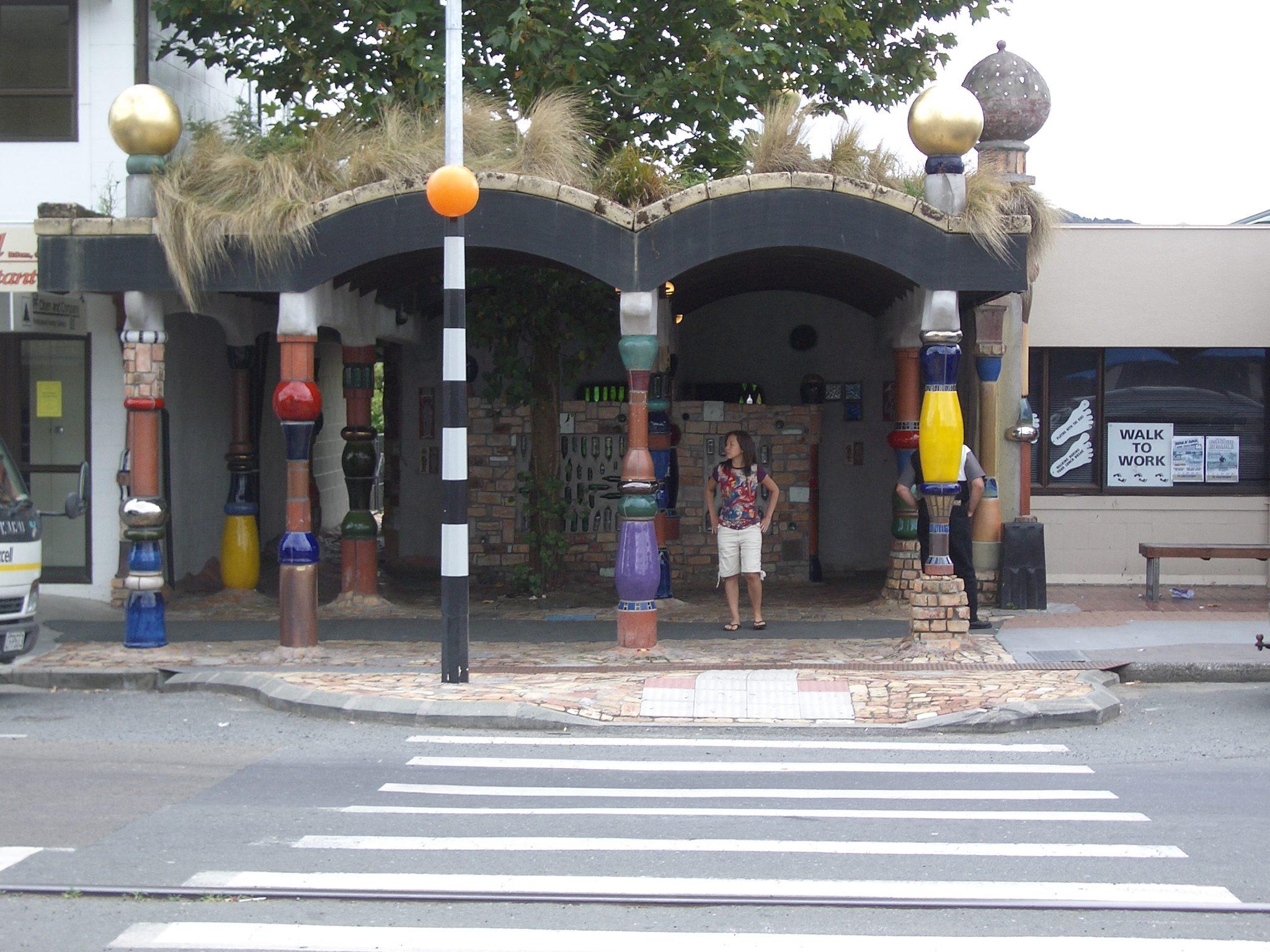 Friedensreich Hundertwasser bathroom