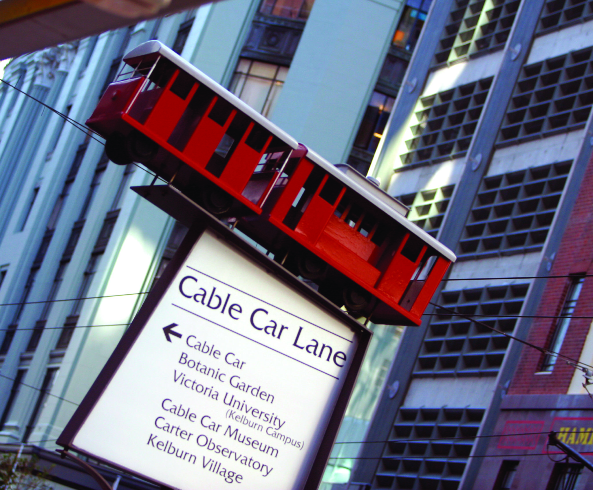 Cable Car Lane Wellington