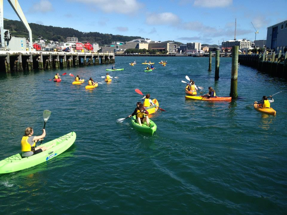 Kayaking in Wellington