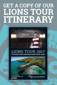 Lions Tour Itinerary