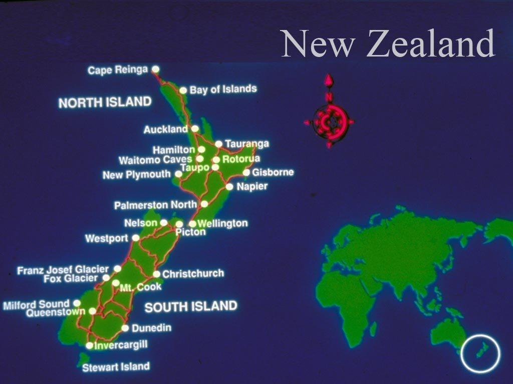 000a - NZ Map