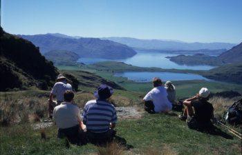 Diamond Lake People Sitting