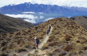 Ascent-to-Ben-Lomond-Saddle
