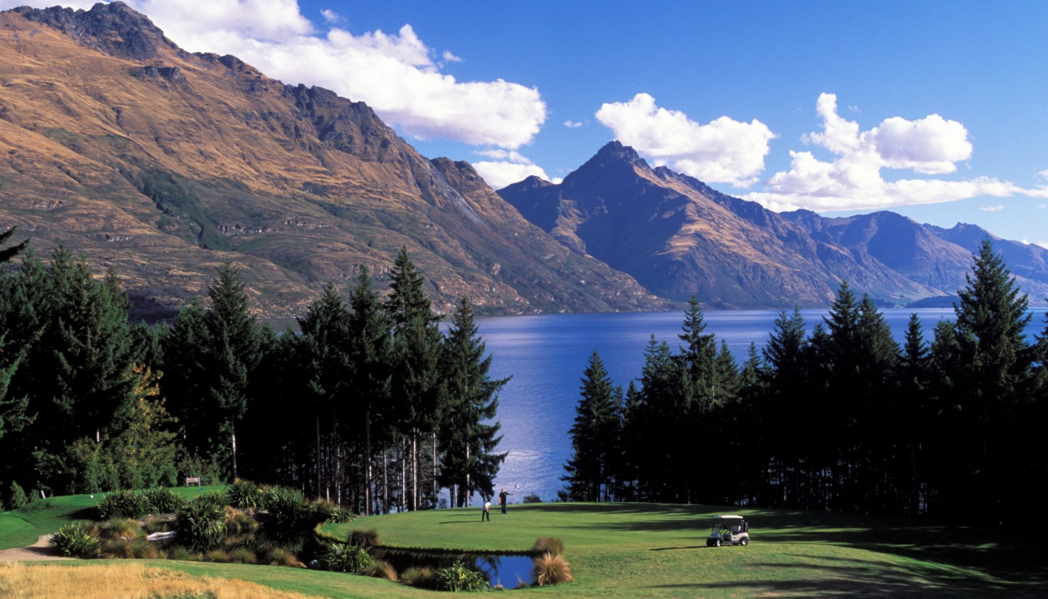 The best golf courses in new zealand silverfern holidays for Landscaping courses nz