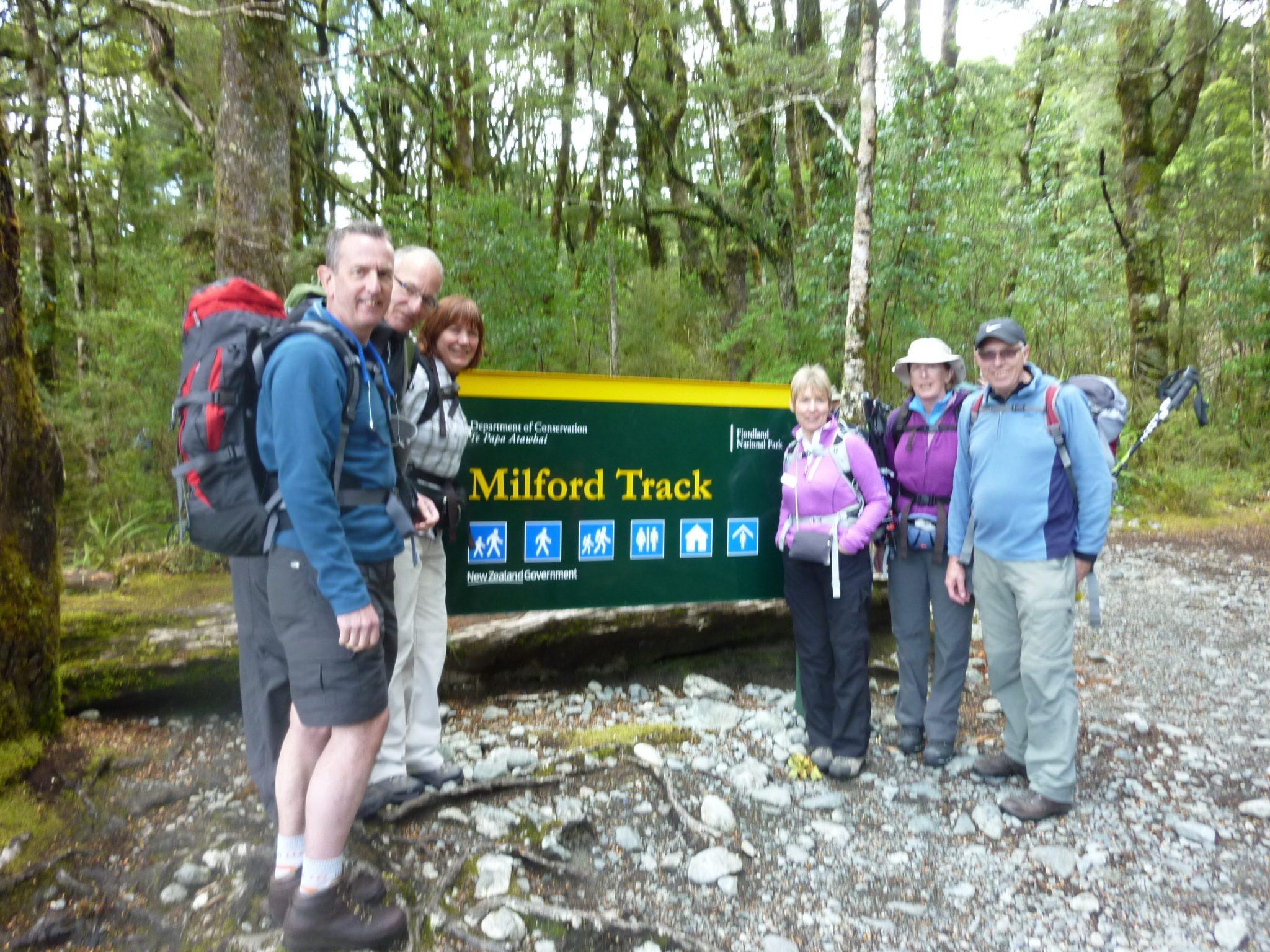 Milford Track - Start